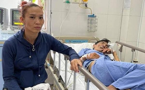 Bà xã kém 32 tuổi giải thích lý do không kề cận khi NS Thương Tín bị đột quỵ, tiết lộ cuộc sống hôn nhân vô cùng khó khăn