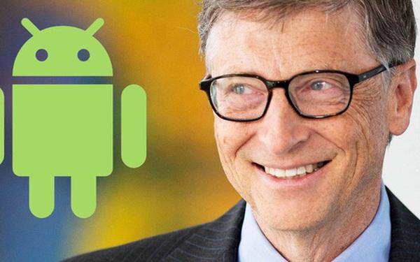 Bill Gates thích dùng Android hơn iPhone