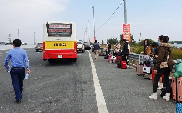Quảng Ninh dừng hoạt động xe khách liên tỉnh, ra khỏi tỉnh phải có giấy xét nghiệm âm tính