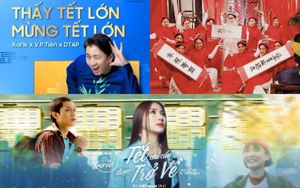 """Khán giả """"ngạt thở"""" với MV Tết: Biti's lấy nước mắt, FPT Shop mang tiếng cười, Samsung, Mirinda, ViettelPay mờ nhạt vì """"chiêu cũ"""""""