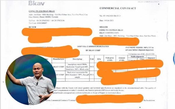 """Vừa khoe ảnh chụp hợp đồng xuất khẩu lô Bphone đầu tiên sang châu  Âu, CEO Nguyễn Tử Quảng liền dính nghi vấn """"chế"""" giấy tờ, bị cư dân mạng mổ xẻ nhiều vấn đề khác thường?"""