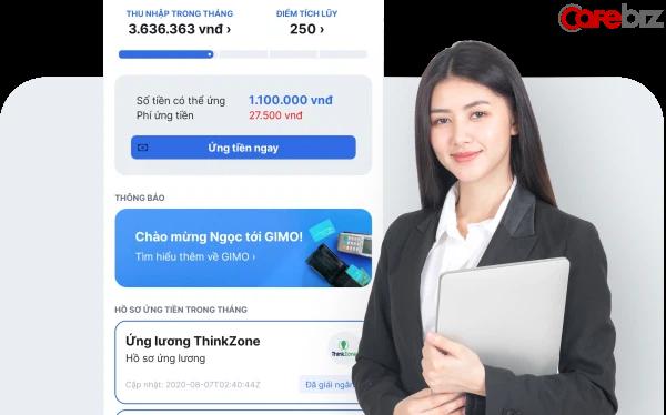 """Startup Việt """"ứng lương tức thì"""" cho người lao động vừa gọi vốn thành công từ ThinkZone Ventures và BK Fund"""