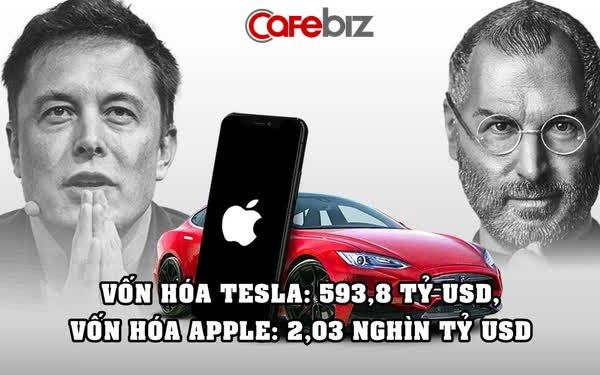 Elon Musk tuyên bố: Tesla sẽ vượt mặt Apple trong vài tháng tới
