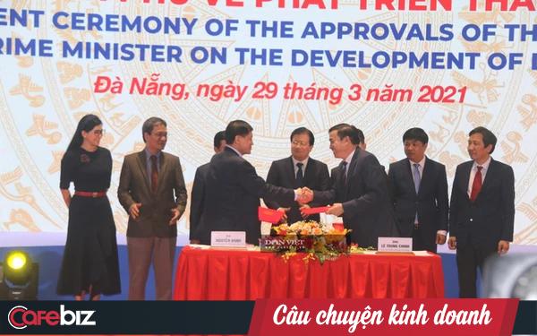 """""""Vua hàng hiệu"""" Hạnh Nguyễn xây trung tâm tài chính 2 tỷ USD tại Đà Nẵng: Dành 5 năm để chuẩn bị, đã kết giao với 3 """"đại bàng chúa"""" trên thế giới"""
