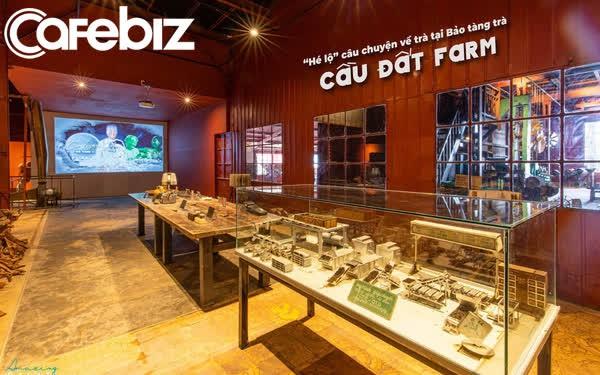 Khám phá không gian đậm đặc hương trà tại Bảo tàng trà cổ Cầu Đất Farm trong khuôn viên Nhà máy trà cổ xưa nhất Đông Nam Á