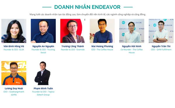 Những gương mặt startup Việt nào đã gia nhập thành công hệ thống vườn ươm tạo 'kỳ lân' cho thế giới Endeavor?