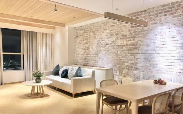 """Ngẩn ngơ trước vẻ đẹp """"mơ về nơi xưa cũ"""" của căn hộ 92m² giữa lòng Thủ đô"""