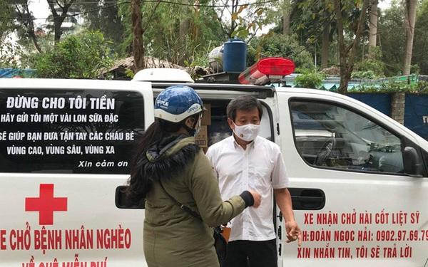 """Một người dân bí ẩn ở Hà Nội trả 30 triệu đồng """"thuê"""" ông Đoàn Ngọc Hải làm việc ở hiệu thuốc"""