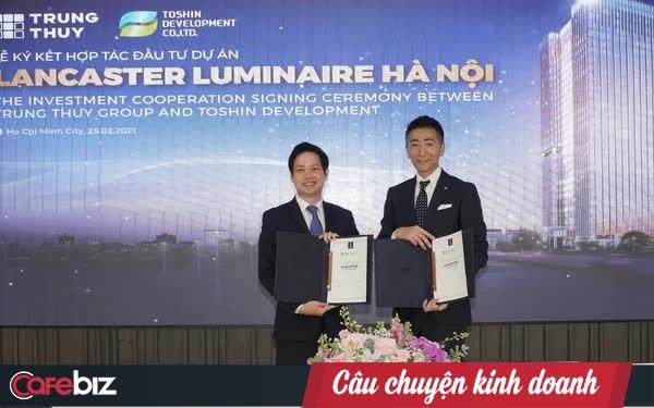 """Tập đoàn Trung Thủy """"bắt tay"""" ông lớn Nhật Takashimaya đầu tư dự án phức hợp Lancaster Luminaire tại Hà Nội"""