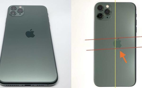 Chiếc iPhone 11 Pro độc nhất vô nhị với logo bị lệch được rao bán với giá 2.700 USD