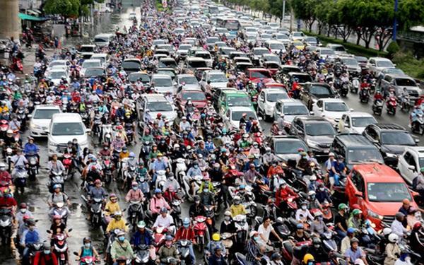 Tỷ lệ người muốn di cư đến TP. HCM cao gấp đôi đến Hà Nội