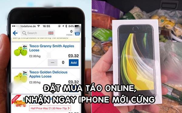Chuyện thật như đùa: Đặt mua táo trên mạng, người đàn ông nhận được iPhone mới cứng