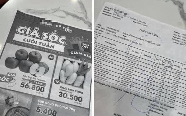 """Pha xử lý """"đi vào lòng đất"""" của nhân viên siêu thị B..Mart: Tận dụng mặt sau của hoá đơn để in tờ rơi, lộ luôn giá nhập hàng cho khách"""