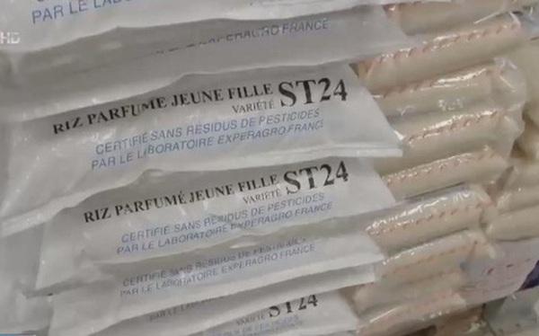 Gạo ST24 của Việt Nam bán khắp châu Âu