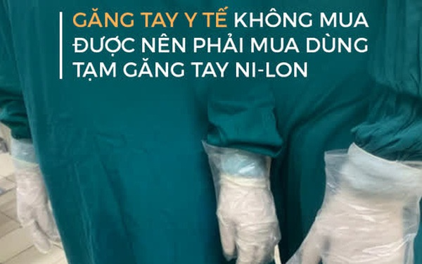"""Nhân viên phải """"tranh nhau găng tay y tế"""", lãnh đạo BV Bạch Mai nói: Đây là vấn đề bất khả kháng của viện"""