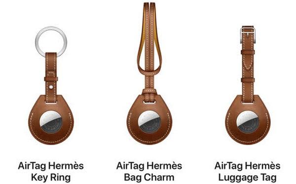 Apple cùng Hermes làm phụ kiện cho AirTag, giá gần 10 triệu đồng cho một  chiếc...