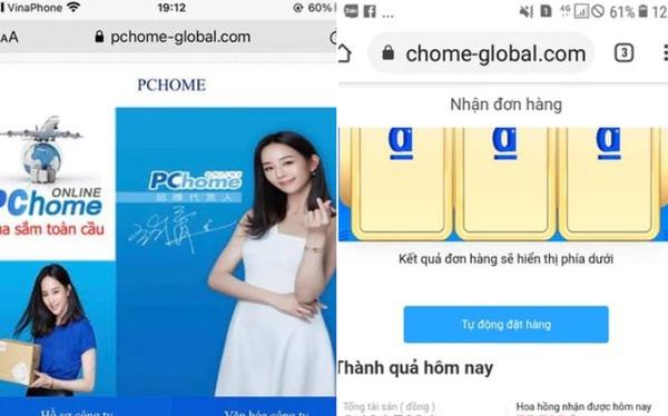"""Nhà đầu tư """"vỡ trận"""" với app kiếm tiền Pchome: Tưởng chỉ ngồi """"giật đơn"""" nhận lãi 105%/tháng, bỗng nhận tin nhắn """"Tao lừa đảo rồi, tao không cho rút đâu"""""""
