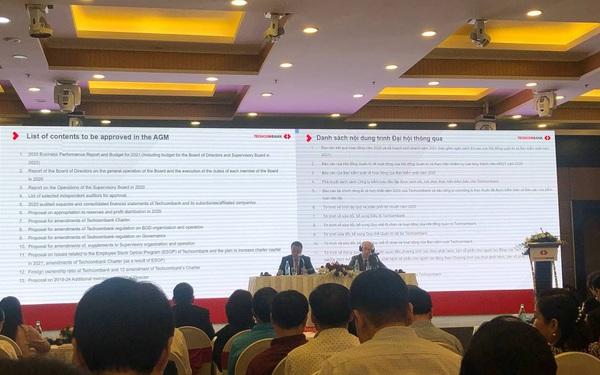 Techcombank bầu em trai Chủ tịch Hồ Hùng Anh vào Hội đồng quản trị, kế hoạch lãi 19.800 tỷ đồng năm 2021