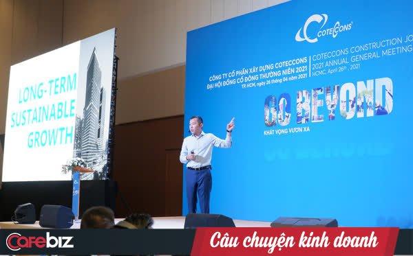 Coteccons hạ chỉ tiêu doanh thu 2021 từ 1 tỷ USD xuống còn 17.413 tỷ đồng, sau khi ban lãnh đạo mới soát xét lại thực tế