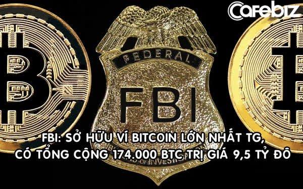 Bắt tội phạm ma túy, FBI 'vớ bẫm' khi tịch thu luôn ví chứa 174.000 Bitcoin trị giá 9,5 tỷ USD