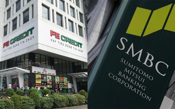 VP Bank bán 49% cổ phần FE Credit cho Sumitomo Mitsui Nhật Bản với giá 1,4 tỷ USD
