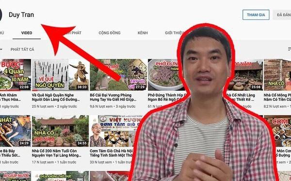 """Review ẩm thực Hà Nội nhưng thiếu hiểu biết, Duy """"Nến"""" đang kiếm được bao nhiêu từ Youtube?"""