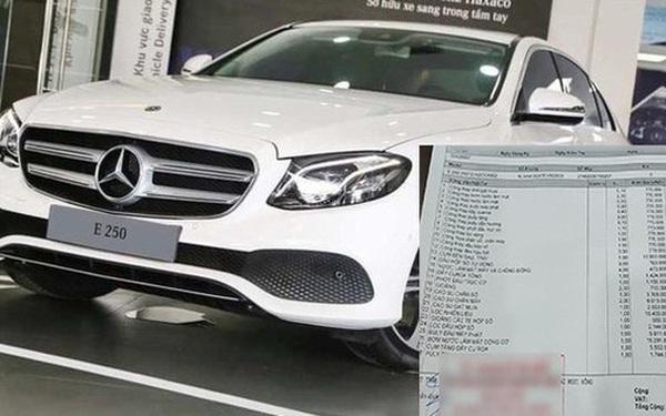 Bảo dưỡng hết 100 triệu, chủ xe Mercedes-Benz kêu 'nhớ' Hyundai Santa Fe cũ, CĐM soi chi tiết công thay gạt mưa hết 770.000 đồng