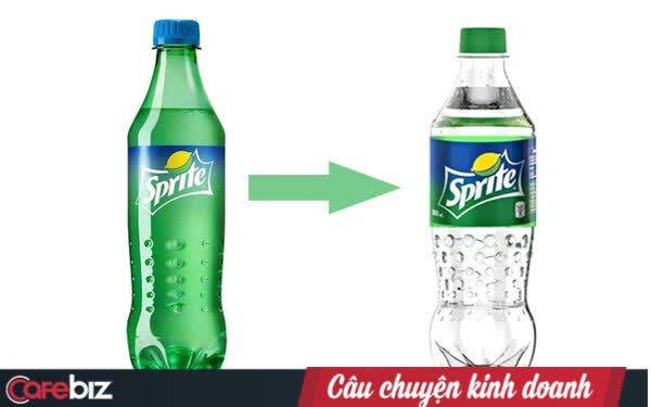 Chỉ chuyển màu chai Sprite từ xanh sang trong suốt, vì đâu Coca-Cola lại gọi là sáng kiến vì môi trường?
