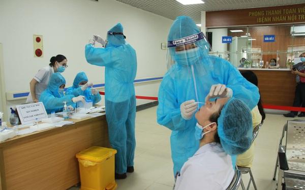 Hà Nội: Thêm 2 ca dương tính SARS-CoV-2 tại Hoàn Kiếm và Đông Anh