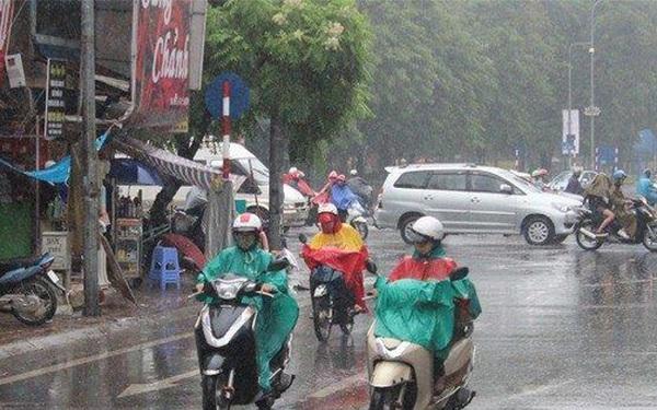Miền Bắc sắp đón nhiều đợt mưa dông