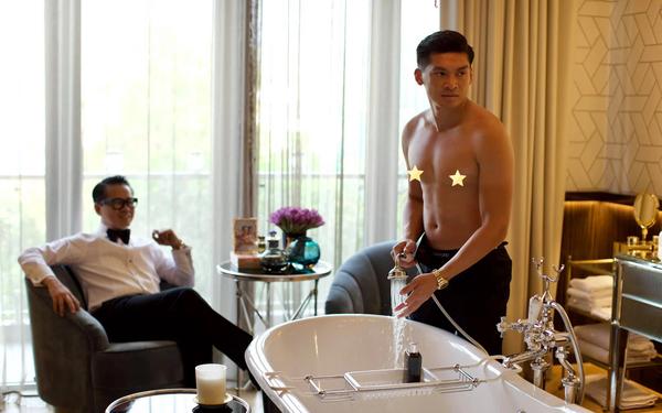 """Khoe phòng tắm kết nối trực tiếp với phòng ngủ, NTK Thái Công """"hiểu và thông cảm"""" cho những người chưa được trải nghiệm đã buông lời chỉ trích"""