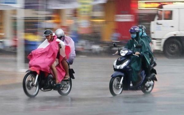 Không khí lạnh tăng cường yếu, Bắc Bộ trở mưa dông diện rộng