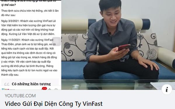 """Chủ kênh YouTube GoGo TV lại đăng """"Video gửi đại diện VinFast"""" nhưng xoá ngay sau 1 tiếng"""