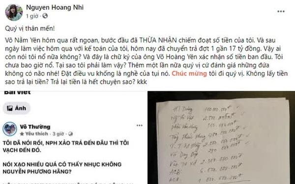 """NÓNG: """"Thần y"""" Võ Hoàng Yên đã chuyển khoản trả lại vợ chồng ông Dũng """"lò vôi"""" gần 17 tỷ đồng"""