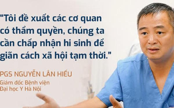 """PGS Nguyễn Lân Hiếu: """"Chúng ta cần hi sinh để giãn cách xã hội tạm thời. Giãn cách có rất nhiều tác dụng"""""""