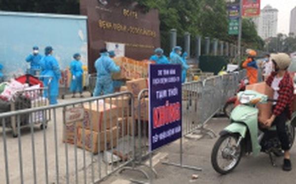 [Chùm ảnh]: Bệnh viện K - cơ sở Tân Triều, Hà Nội sau khi bị phong toả và cách ly