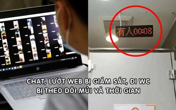 Nhân viên công nghệ Trung Quốc kiệt sức vì chat, duyệt web đều bị giám sát, đi WC lại bị theo dõi mùi và thời gian