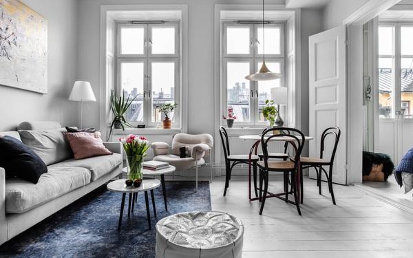 Sau nhiều năm tiết kiệm, cô gái trẻ đã mua được căn hộ 39m² và cải tạo thành không gian đẹp ngọt ngào