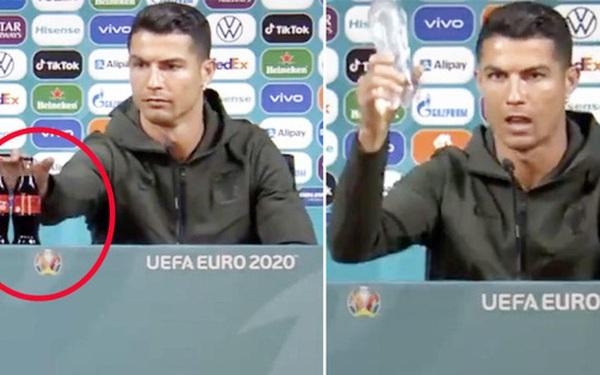 Cú gạt tay trị giá 4 tỷ đô của Ronaldo: Chọn uống nước lọc không phải để bảo vệ sức khỏe mà bảo vệ thương hiệu?