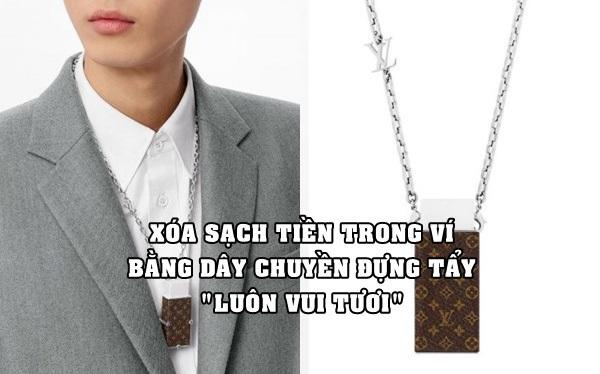 Dây chuyền đựng cục tẩy 18,6 triệu đồng của Louis Vuitton: Không xóa được mực bút bi nhưng xóa được tiền trong ví của bạn