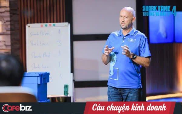 CEO người Mỹ lên Shark Tank Việt gọi vốn cho My Storage: Shark Louis nhiệt tình phân tích SWOT, nhưng sau 1 câu nói đành thốt lên 'Thôi thua (shark Hưng) rồi'!