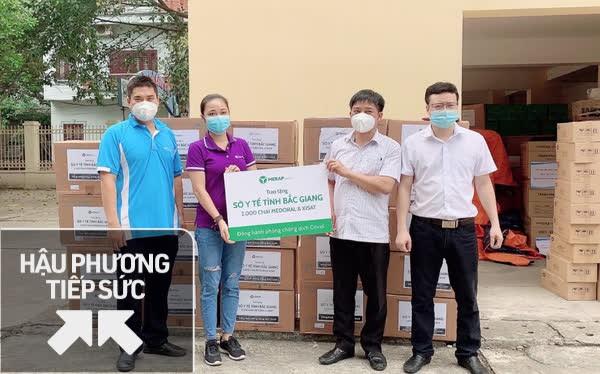 Công ty dược phẩm MERAP trao tặng 13.000 dược phẩm, trợ lực hữu hiệu cho lực lượng y tế tuyến đầu