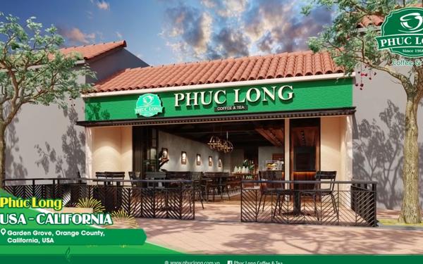 Phúc Long mở cửa hàng đầu tiên tại Mỹ: Thiết kế đậm chất Việt Nam với sân gạch đỏ, nhà mái ngói, tường khắc hoạ hình ảnh đồi chè