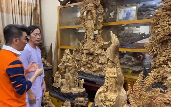 Giữa ồn ào, NS Hoài Linh bị soi lại BST trầm hương trăm tỷ ở phòng riêng, đặc biệt có cả loại gỗ quý hiếm nhất Việt Nam