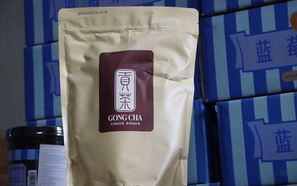 Vụ thu giữ hàng tấn nguyên liệu trà sữa không rõ nguồn gốc, Gong Cha 'xịn' lên tiếng: Đây là hàng 'nhái' Gong Cha, chúng tôi TUYỆT ĐỐI KHÔNG bán lẻ nguyên liệu!