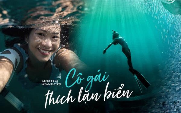 Zen Le - Cô gái Sài Gòn đam mê thể thao lặn biển đích thân trải nghiệm những tầng đại dương nguy hiểm mà không phải ai cũng được tới
