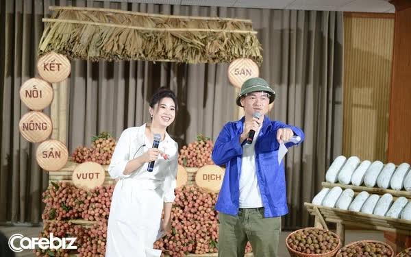 Sau hơn 1 giờ đội mũ cối bán hàng livestream, Xuân Bắc giúp nông dân Bắc Giang, Lào Cai, Bắc Kạn bán được 100 tấn nông sản