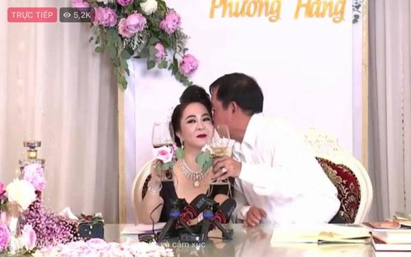 Vợ chồng bà Phương Hằng mở tiệc online kỷ niệm 15 năm cưới: Nữ đại gia