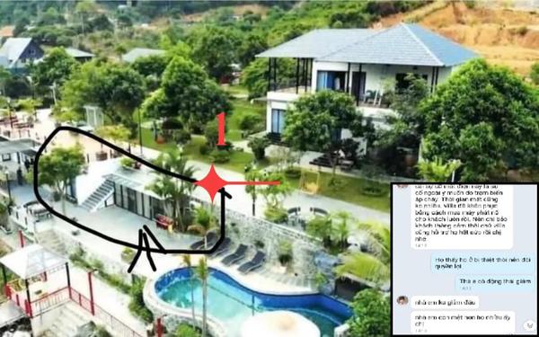 """Ảnh quảng cáo biệt thự nhưng khách tới L. Villa Sóc Sơn phải ở dãy nhà trọ, quản lí khinh thường nói khách """"giẻ rách"""", """"ghê gớm"""""""