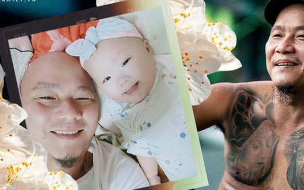 """Anh Minh bán rau rơi nước mắt nói về con gái út: """"Nếu có một điều ước, chỉ ước con bé có thể ở với vợ chồng tôi thật lâu"""""""